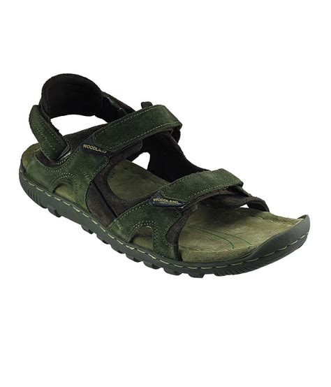 Sandal Sdl 22 Green by Woodland Wdgd0491108 Olivegreen Mens Sandal Price In India