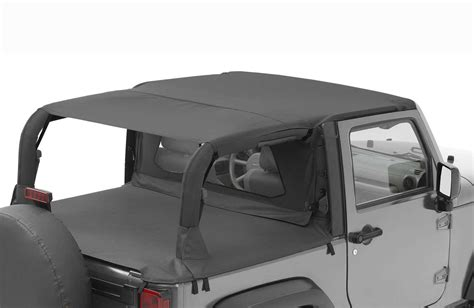 how to put top on jeep wrangler bestop 174 header safari 174 tops for 07 09 jeep