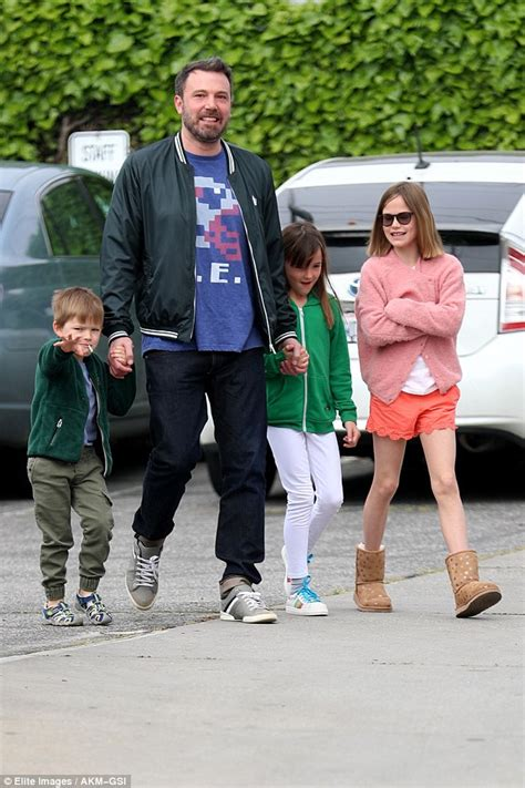ben affleck smiles as he ben affleck smiles as he spends time with the