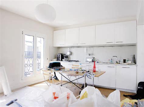 cuisine toute blanche comment r 233 veiller une cuisine blanche