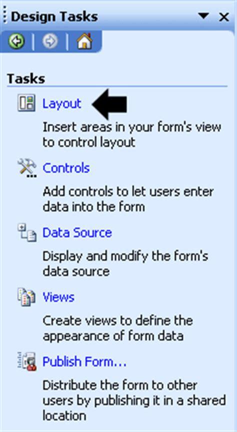 membuat layout rapat membuat notulen rapat dengan menggunakan infopath 2003