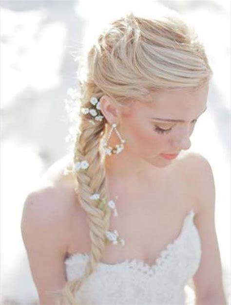 fishtail braid wedding hairstyles hair nails