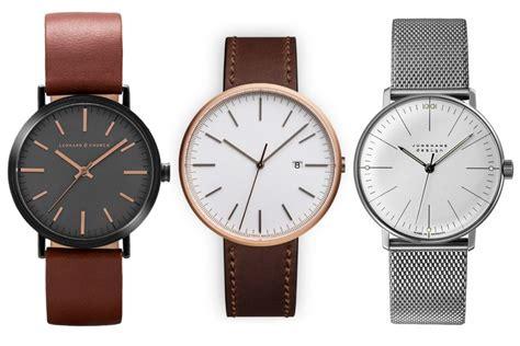 modern minimalist watches yes magazine