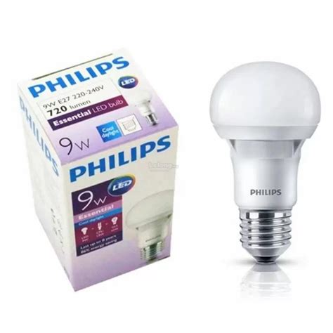Lu Philips Essential 5 Watt 6 pcs philips essential 9w led light end 2 13 2018 3 15 pm