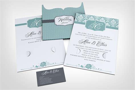 wedding invitation mockup wedding invitation jacket mock up on behance