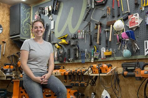 Triton Tools Meet April Wilkerson From Woodworking