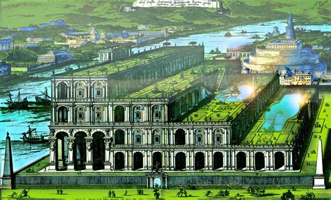 imagenes jardines colgantes babilonia jardines colgantes de babilonia sistema de museos virtuales