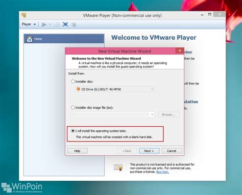 tutorial install windows 7 di vmware tutorial instal windows 10 preview di vmware disertai