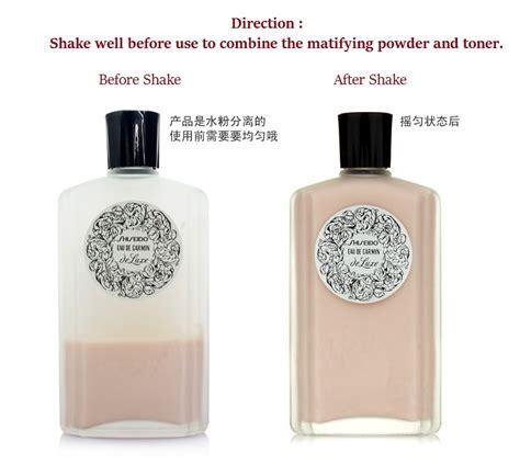 Toner Shiseido shiseido eau de carmin de luxe pore tightening