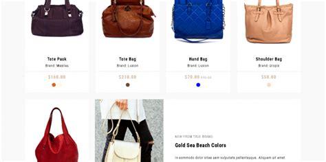 shopify themes handbags 5 best shopify premium themes for handbags store 2017