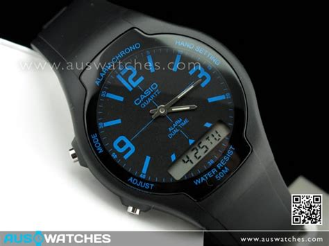 Casio Aw 90h 2bv buy casio digital analog combination series aw 90h 2bv buy watches casio aus watches