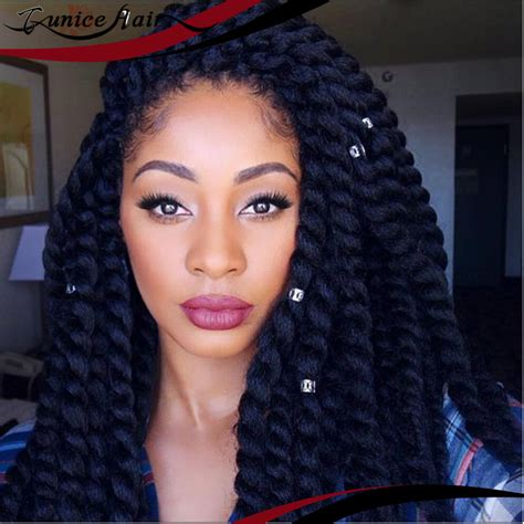 twists with extension hair known as marley braid hair instead havana mambo twist crochet braid hair 22 quot 24 synthetic