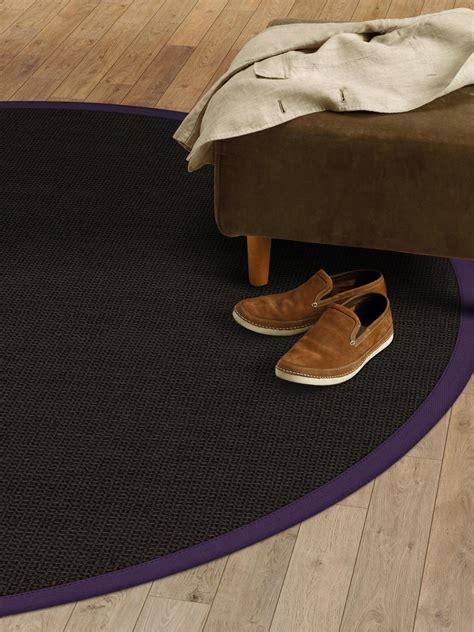 sisal teppich lila sisal teppich rund schwarz innenr 228 ume und m 246 bel ideen