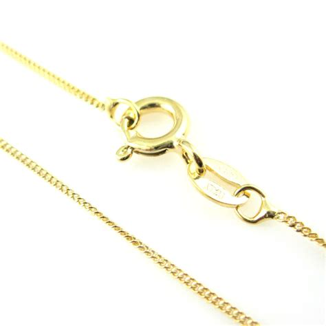 gold plated necklace chain vermeil sterling silver