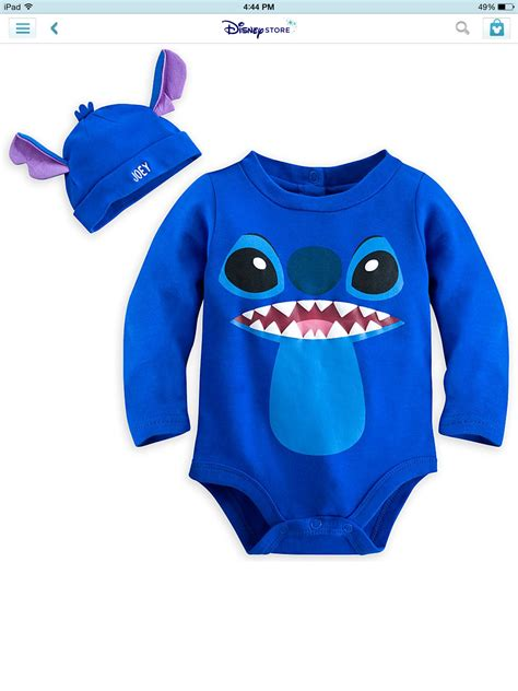 stitches clothes personalized stitch clothing for baby disneystore
