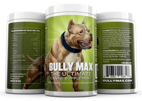 bully max puppy food bully max the best supplements for your american bully today american bully