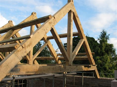 a frame roof timber roof frames oak timber framing carpentry in france