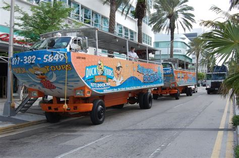 duck boat tours parking duck tours south beach miami beach fl hours address