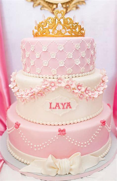 royal princess first birthday party pink amp gold