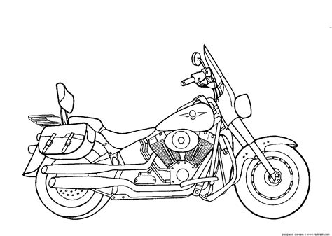 free motorcycle coloring pages to print free coloring pages of harley softail