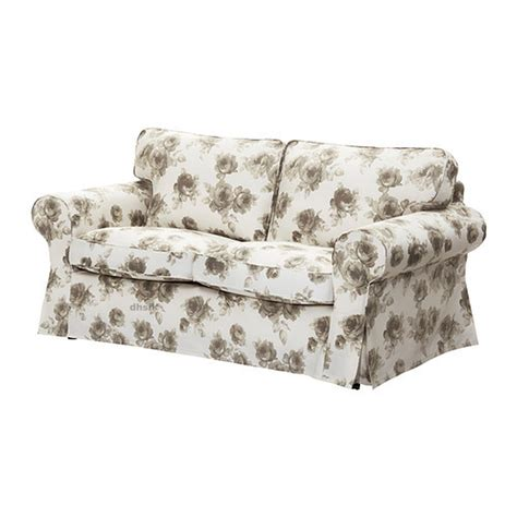 floral slipcovers for sofas ikea ektorp 2 seat sofa slipcover loveseat cover norlida
