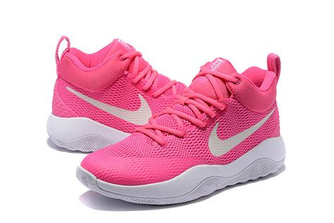 pink white mens nike kyrie 4 shoes