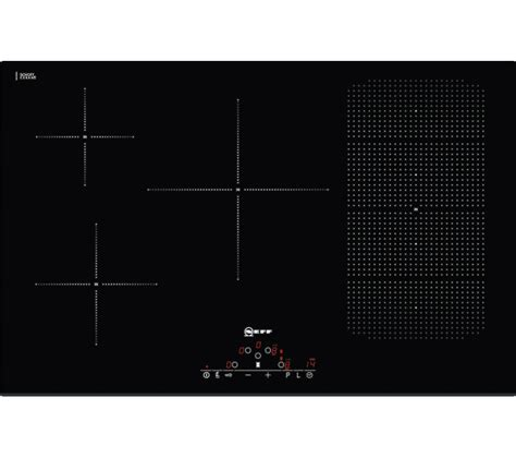 neff induction hob buy neff t51d86x2 induction hob black free delivery currys