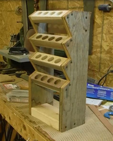 building  chisel rack youtube