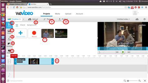 editor imagenes online google wevideo um editor de videos online com integra 231 227 o com o