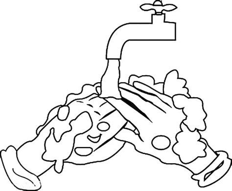 soap coloring laundry soap free coloring pages
