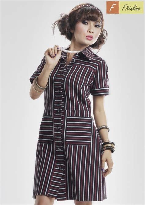 Pocket Dress Baju Anak 0147 Fitinline Cara Mudah Membuat Pola Shirt Like Dress