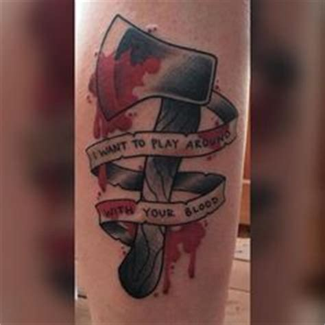 american psycho tattoo the world s catalog of ideas