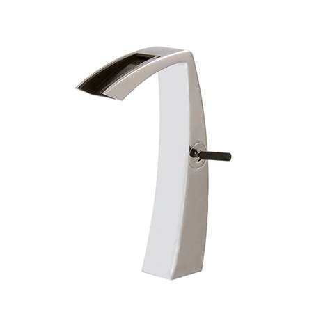 open spout faucet bathroom tall single hole lavatory faucet with open spout 61820