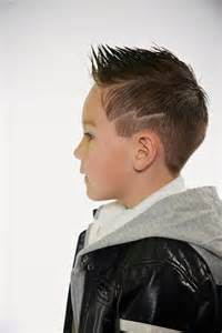 Lightning Bolt Hair Faded Fohawk With Lightening Bolt Carving Boys