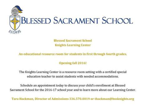edmodo bss knights learning center blessed sacrament school