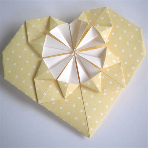 Valentines Day Origami - origami s day card by paperbuzz