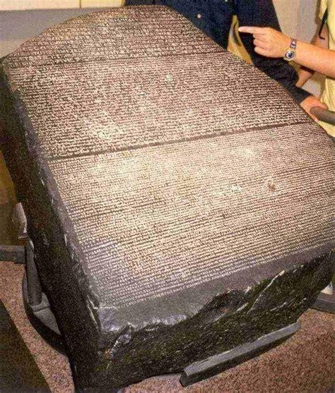 rosetta stone who found it today in history rosetta stone was found