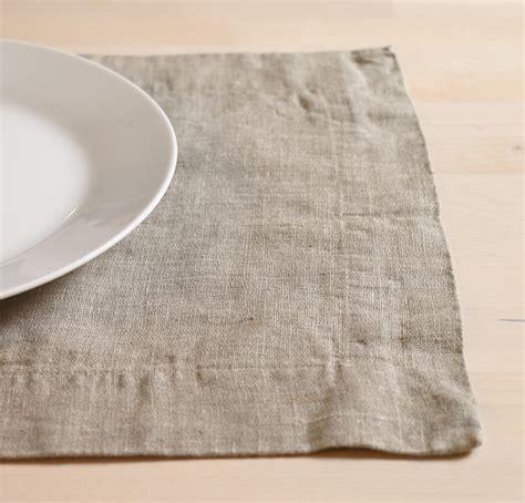 Linen Place Mats by Linen Placemat 100 European Linen Placemats
