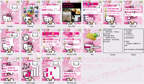 hello kitty themes blogspot hello kitty theme by angelax on deviantart
