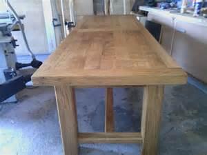 Table De Ferme En Chene