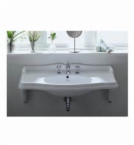 wall mount bathroom sinks whitehaus ar864 mnslen wall mount bathroom sink