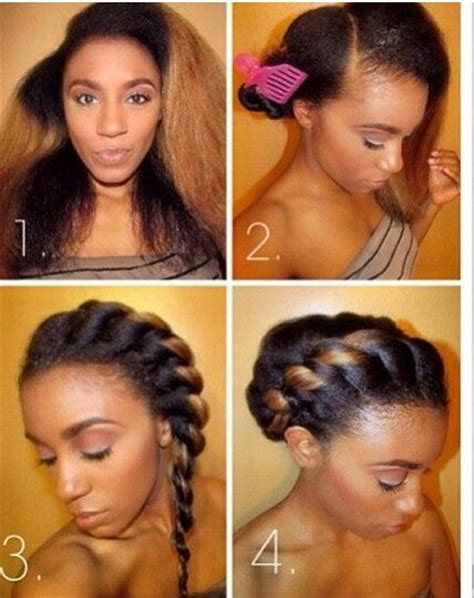 cute hairstyles relaxed hair easy hairstyles for permed hair hairstyles