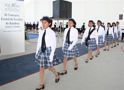 imagenes de escoltas escolares xi concurso estatal de escoltas en telesecundarias