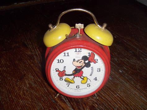 mickey mouse alarm clock collectors weekly