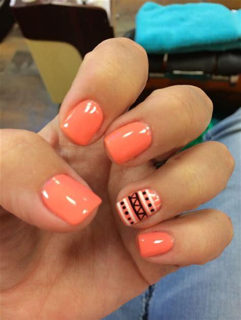 aztech nails nail art nail design manicure shellac