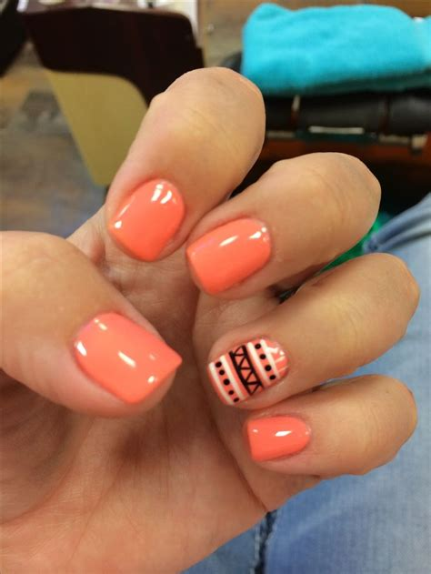 Aztech, nails, nail art, nail design, manicure, shellac, gel ^^^^dem Aztech nail    GlavPortal