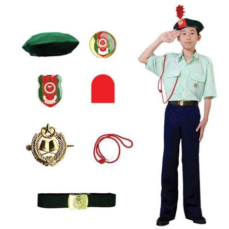 kadet remaja sekolah pakaian seragam persatuan sekolah