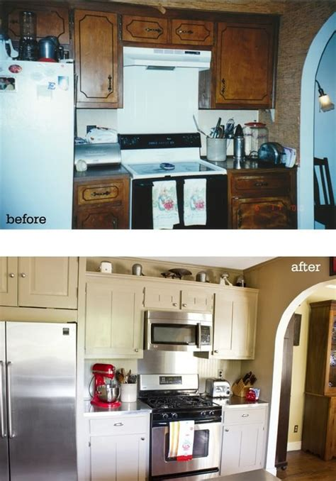 kitchen cabinet redo pinterest
