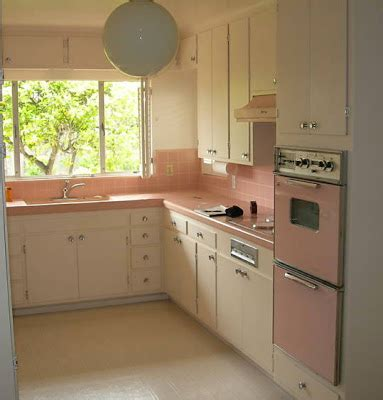 pink appliances kitchen 1950 s atomic ranch house 1950 s pink kitchen appliances