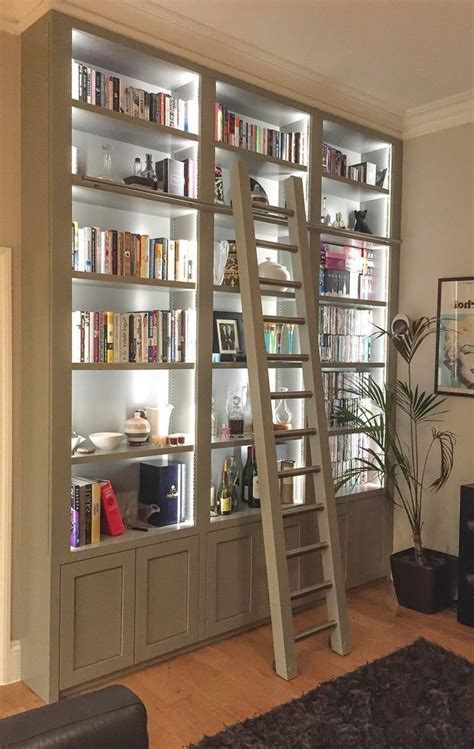 Built In Bookcase With Doors Built In Display Cabinet Cabinets Great Freestanding Bookshelf With Led Lights Designed With
